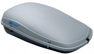 Грузовой бокс Cruzbox CLAN 450, 160х100х44см, 450л, серый, (U-скоба 80мм)